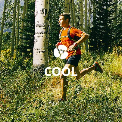 Discover the products that keeps you cool in every activity.